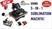 Heat Press 5 In 1 Multifunction Sublimation Heat Press Machine | Printing Equipment for sale in Nairobi, Nairobi Central