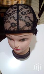Black Adjustable Lace Cap For Wigs Weave Cap | Tools & Accessories for sale in Nairobi, Nairobi Central