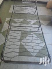 Used Single Metal Folding Bed 4X6 (Spring Type) | Furniture for sale in Mombasa, Shimanzi/Ganjoni