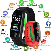 Smart Band Watch Fitness Tracker Blood Pressure Heartrate M3 | Smart Watches & Trackers for sale in Nairobi, Nairobi Central
