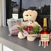Teddy Bear Gift Plus Hennessy Cognac Very Special | Meals & Drinks for sale in Nairobi, Kileleshwa