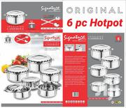 6pc Signature Hot Pot/Hot Pot/Stainless Steel Hot Pot | Kitchen Appliances for sale in Nairobi, Nairobi Central