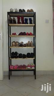 Metallic Wooden Shoe Rack | Furniture for sale in Nairobi, Kileleshwa