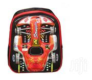 3D Cartoon Car Pre School Bag 13"