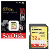Sandisk 32GB Memory Card Extreme SD UHS-I CARD For 4K UHD Cameras | Accessories for Mobile Phones & Tablets for sale in Nairobi, Nairobi Central