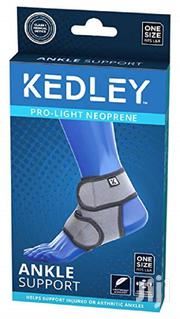 Kedley Pro-light Neoprene Ankle Support One Size Fits L&R -universal   Tools & Accessories for sale in Nairobi, Ngara