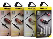Awei Es10ty Stereo Earphone | Accessories for Mobile Phones & Tablets for sale in Nairobi, Nairobi Central