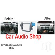 2005 Double Din Radio Fascia Frame For Toyota Vista Ardeo | Vehicle Parts & Accessories for sale in Nairobi, Nairobi Central