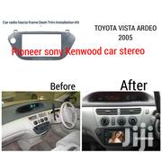 Radio Fascia Conversion KIT Fits In Year 2005 Toyota Vista Ardeo | Vehicle Parts & Accessories for sale in Nairobi, Nairobi Central