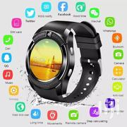 V8 Round Smart Watch With Mpesa Tool | Smart Watches & Trackers for sale in Nairobi, Nairobi Central