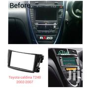 Car Stereo Radio Fascia Panel KIT Frame For Toyota Caldina T240 | Vehicle Parts & Accessories for sale in Nairobi, Nairobi Central
