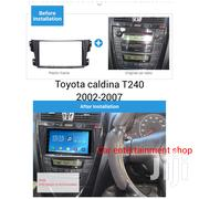 2002 To 2007 Double Din Radio Fascia Frame For Toyota Caldina T240 | Vehicle Parts & Accessories for sale in Nairobi, Nairobi Central