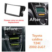 Radio Fascia Conversion Fits In Year 2002 To 2007 Toyota Caldina T240 | Vehicle Parts & Accessories for sale in Nairobi, Nairobi Central