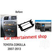 Car Radio Fascia For 2008 To 2010 Toyota Corolla 2 Din Radio | Vehicle Parts & Accessories for sale in Nairobi, Nairobi Central