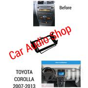Toyota Corolla 2007 To 2013 Black Double Din Car Stereo Fascia KIT | Vehicle Parts & Accessories for sale in Nairobi, Nairobi Central