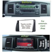 Toyota Corolla /Nze/ Filder Fascia Panel Year 2001-2006 2 Din Radio | Vehicle Parts & Accessories for sale in Nairobi, Nairobi Central