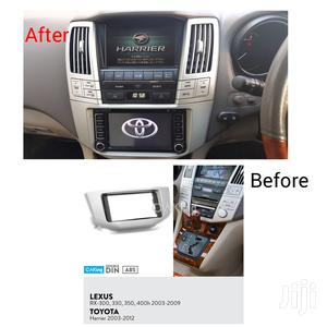 One Din Stereo Fascia Panel For Toyota Harrier/Lexus Rx300