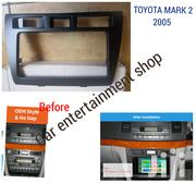 Double Din Fascia For 2005 Toyota Mark Ii Radio | Vehicle Parts & Accessories for sale in Nairobi, Nairobi Central