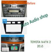 Dark Grey 2005 Toyota Mark Ii Double Din Fascia Panel | Vehicle Parts & Accessories for sale in Nairobi, Nairobi Central
