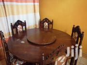 Round Hard Wood Dining Table | Furniture for sale in Nairobi, Lower Savannah