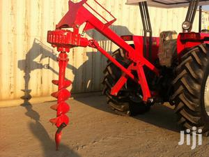 Post Hole Digger; PTO Operated Hole Digger