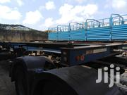 Clean Skeleton Trailer Doll System Capacity 32 Tons At Weighbridge | Trucks & Trailers for sale in Mombasa, Changamwe