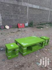 Coffee Table With Two Stools | Furniture for sale in Nairobi, Ngara
