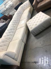 Pure Leather 7 AND 5 Seater Coach | Furniture for sale in Kajiado, Ngong