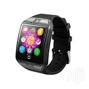 Generic Q18 Bluetooth Smartwatch Smart Phone Black | Accessories for Mobile Phones & Tablets for sale in Nairobi, Nairobi Central