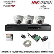 3 Hikvision 720P 1mp Complete CCTV Cameras | Cameras, Video Cameras & Accessories for sale in Nairobi, Nairobi Central