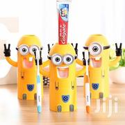 Automatic Kids Bathroom Minion Toothpaste Dispenser Toothbrush Holder | Home Accessories for sale in Nairobi, Nairobi Central