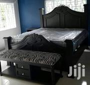 5x6 Bed With A Side Seat | Furniture for sale in Nairobi, Ngara