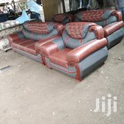 Ready Made 7 Seaters Leather Seat | Furniture for sale in Nairobi, Ngara