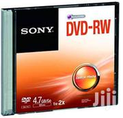 Sony Dvd Rw Cased | CDs & DVDs for sale in Nairobi, Nairobi Central