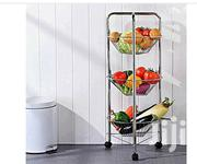 Ultimate Kitchen 3 Tier Fruit Rack Silver | Kitchen & Dining for sale in Mombasa, Majengo