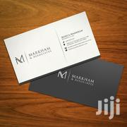 Business Card Design | Manufacturing Services for sale in Nairobi, Kilimani