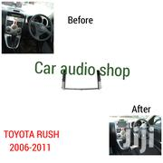 2006+ Double Din Radio Fascia Frame For Toyota Rush | Vehicle Parts & Accessories for sale in Nairobi, Nairobi Central