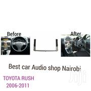 Double Din Car Stereo Fascia Frame For Year Toyota Rush 2011 | Vehicle Parts & Accessories for sale in Nairobi, Nairobi Central