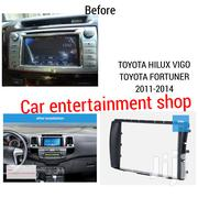 3. Toyota Hilux/Vigo/Fortuner Fascia Panel Year 2011+ Double Din Radio | Vehicle Parts & Accessories for sale in Nairobi, Nairobi Central