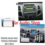 2 Din Car Radio Fascia For 2011 + Toyota Hilux/Vigo/Fortuner Stereo | Vehicle Parts & Accessories for sale in Nairobi, Nairobi Central