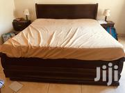 King Size Bed With 2 Nighstands And Table Lamps. | Furniture for sale in Mombasa, Shimanzi/Ganjoni