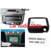Double Din Radio Fascia Frame For Toyota Vitz/Echo/Yaris | Vehicle Parts & Accessories for sale in Nairobi, Nairobi Central