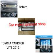Double Din Car Radio Console For 2012 Toyota Vitz/Yaris | Vehicle Parts & Accessories for sale in Nairobi, Nairobi Central