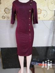 Cotton Fitting Dress With Side Buttons | Clothing for sale in Nairobi, Nairobi Central