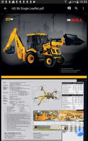 Back Hoe | Manufacturing Materials & Tools for sale in Nyeri, Mugunda
