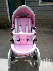 Beautiful Soft Leather 3 Piece Pink Baby Pram | Prams & Strollers for sale in Nairobi, Nairobi West