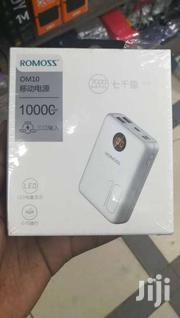 Romoss OM10 Power Bank 10000mah Mini Size 3 Input 2 USB | Accessories for Mobile Phones & Tablets for sale in Nairobi, Nairobi Central
