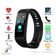 Y5 Wristband Heart Rate Blood Pressure Monitor Bluetooth Smart Watch | Watches for sale in Nairobi, Nairobi Central