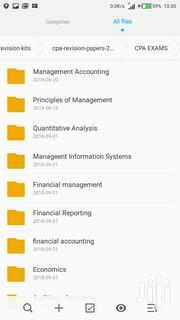 Cpa-certified Public Accountants Study Materials   CDs & DVDs for sale in Nairobi, Embakasi