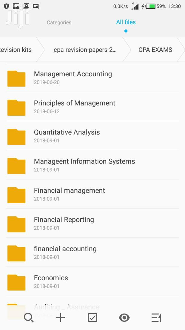 Cpa-certified Public Accountants Study Materials